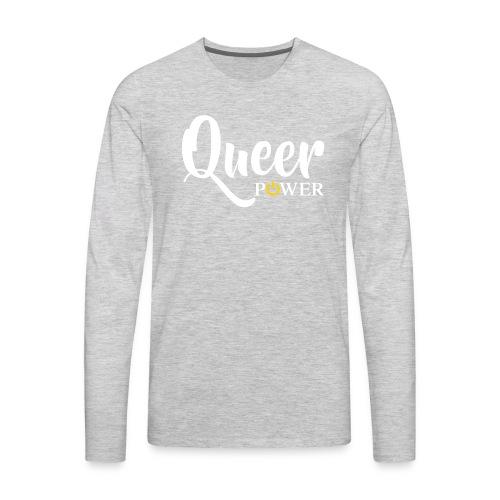 Queer Power T-Shirt 04 - Men's Premium Long Sleeve T-Shirt