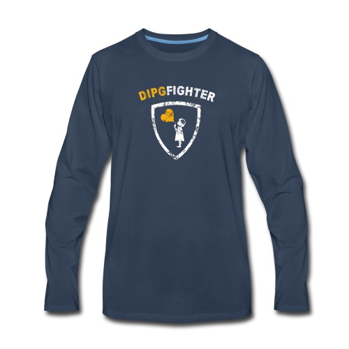 DIPG Fighter Classic - Men's Premium Long Sleeve T-Shirt