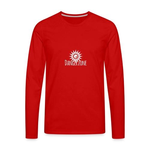 Danger zone - Men's Premium Long Sleeve T-Shirt