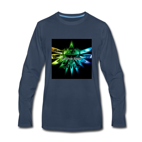Teme logo - Men's Premium Long Sleeve T-Shirt