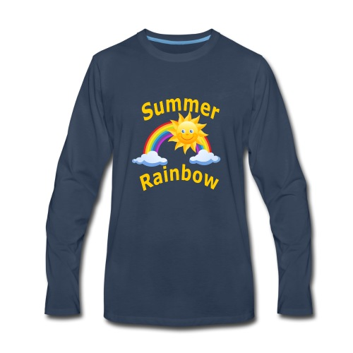 Summer Rainbow - Men's Premium Long Sleeve T-Shirt