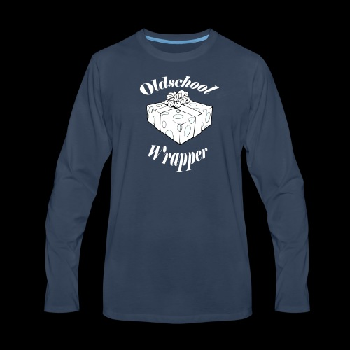 Oldschool Wrapper - Men's Premium Long Sleeve T-Shirt