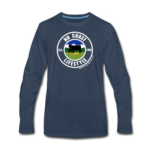 NCL Cows - Men's Premium Long Sleeve T-Shirt