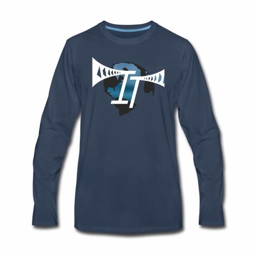 international thrills new logo - Men's Premium Long Sleeve T-Shirt