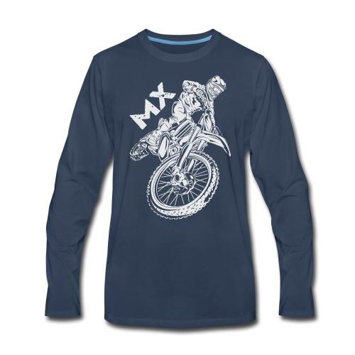 Motocross MX Rider - Men's Premium Long Sleeve T-Shirt