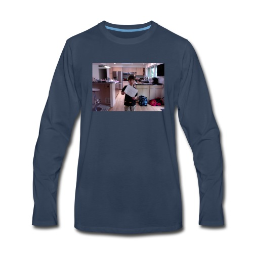 team qcevwwaer gaming t shirt - Men's Premium Long Sleeve T-Shirt