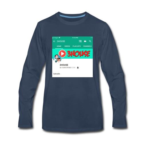 3H October 2018 Merch Collection - Men's Premium Long Sleeve T-Shirt