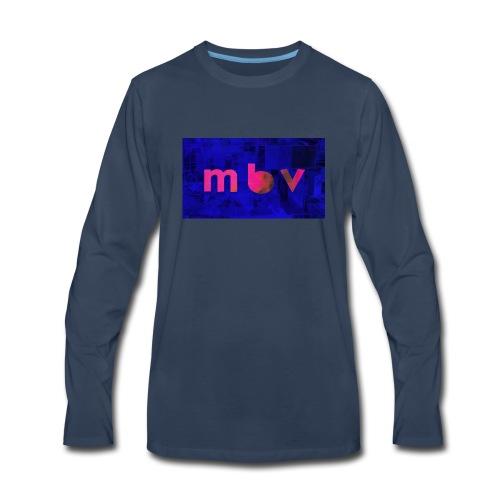 Matt Boarding Vlogs Official Logo - Men's Premium Long Sleeve T-Shirt