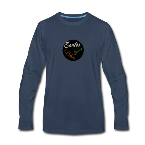 1525631040617(Santos Vibes) - Men's Premium Long Sleeve T-Shirt