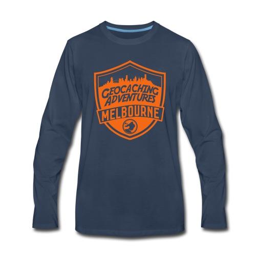 GCMelb vector - Men's Premium Long Sleeve T-Shirt