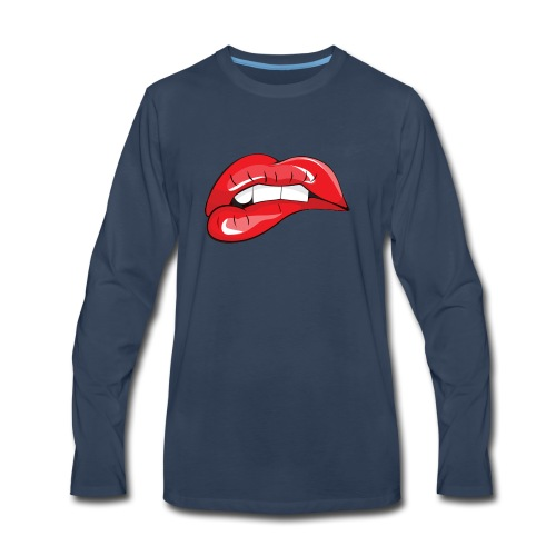LIP BIT - Men's Premium Long Sleeve T-Shirt