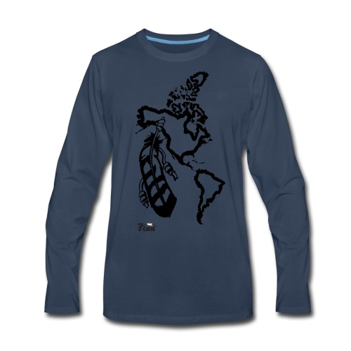 NativeLand - 7thGen - Men's Premium Long Sleeve T-Shirt