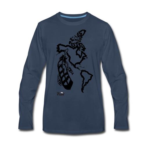 NativeLand - 7thGen - Men's Premium Long Sleeve T-Shirt