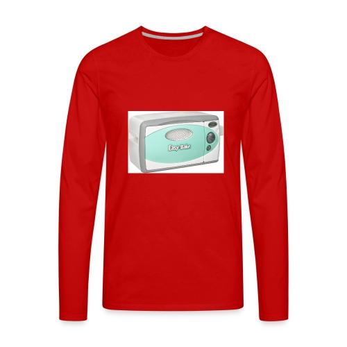 easy bake - Men's Premium Long Sleeve T-Shirt