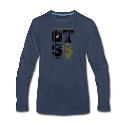 onlythestrongsurvive - Men's Premium Long Sleeve T-Shirt