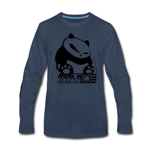 Made In Japan Panda - Men's Premium Long Sleeve T-Shirt