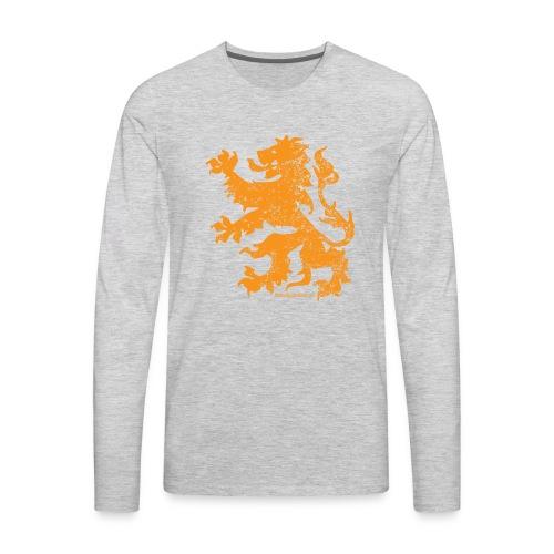Dutch Lion - Men's Premium Long Sleeve T-Shirt