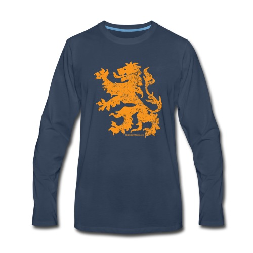 Dutch Lion - Men's Premium Long Sleeve T-Shirt