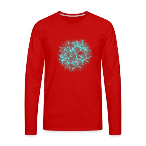 Water effect - Men's Premium Long Sleeve T-Shirt