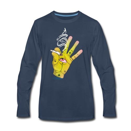 Khalwi High Khamsa - Men's Premium Long Sleeve T-Shirt