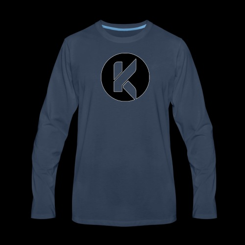 Koptivate Logo (Circle) - Men's Premium Long Sleeve T-Shirt