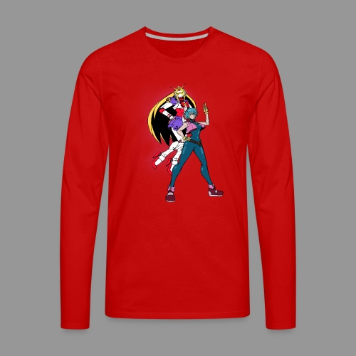 Allenby and Nobel Gundam - Men's Premium Long Sleeve T-Shirt