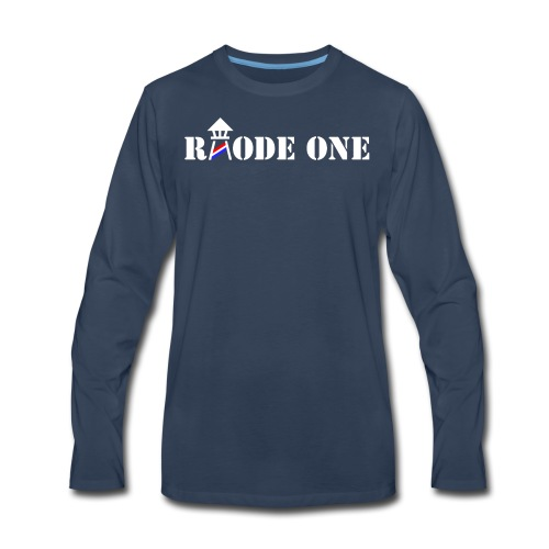 Rhode One logo - Men's Premium Long Sleeve T-Shirt