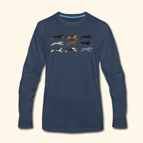 The Starting Nine - Men's Premium Long Sleeve T-Shirt