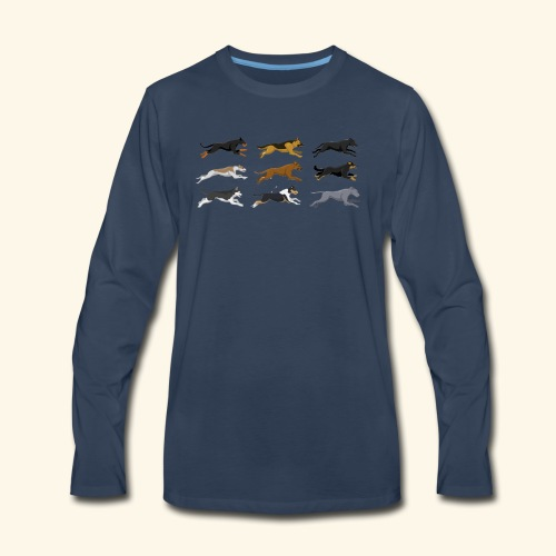 The Starting Nine - Men's Premium Long Sleeve T-Shirt