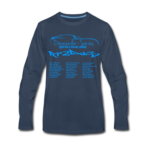 rf2dus with name - Men's Premium Long Sleeve T-Shirt