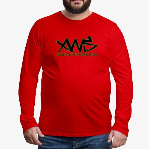 XWS Logo - Men's Premium Long Sleeve T-Shirt
