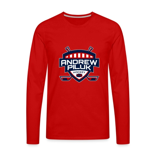 Andrew Piluk Hockey - Men's Premium Long Sleeve T-Shirt