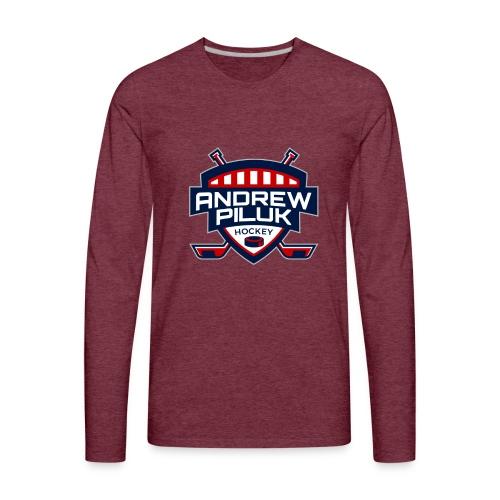 Andrew Piluk Hockey - Men's Premium Long Sleeve T-Shirt