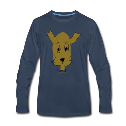 ralph the dog - Men's Premium Long Sleeve T-Shirt