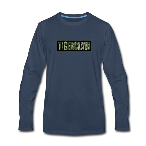 TigerClawCamo - Men's Premium Long Sleeve T-Shirt