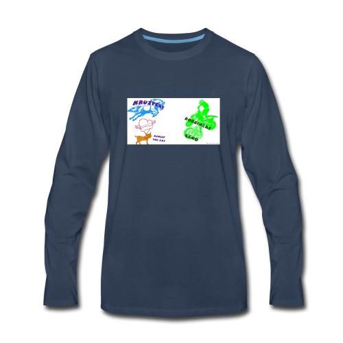 The sqaud merch - Men's Premium Long Sleeve T-Shirt