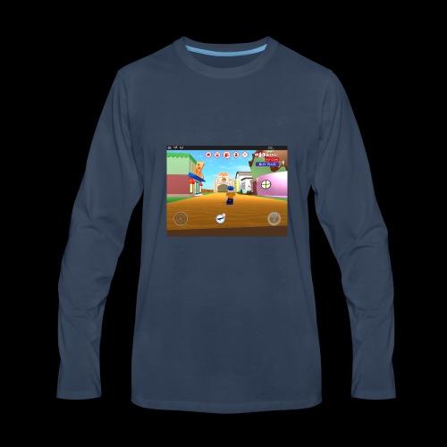 Roblox meep city - Men's Premium Long Sleeve T-Shirt