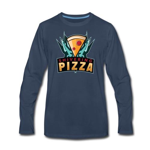 Shiveringpizza Logo - Men's Premium Long Sleeve T-Shirt