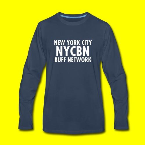 NYC BUFF Network - Men's Premium Long Sleeve T-Shirt