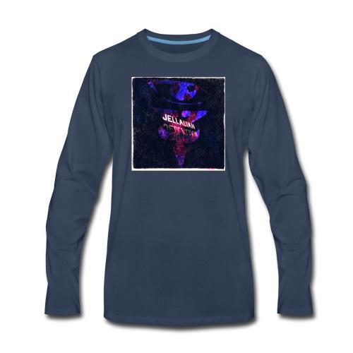 JELLALIAN OFFICIAL(COLOR BLAST EDITION) - Men's Premium Long Sleeve T-Shirt