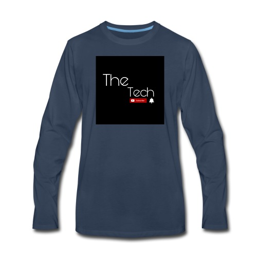 The Tech t-shirts - Men's Premium Long Sleeve T-Shirt