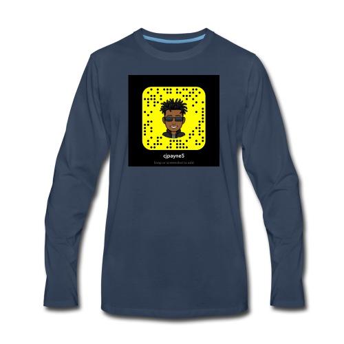 Snap - Men's Premium Long Sleeve T-Shirt