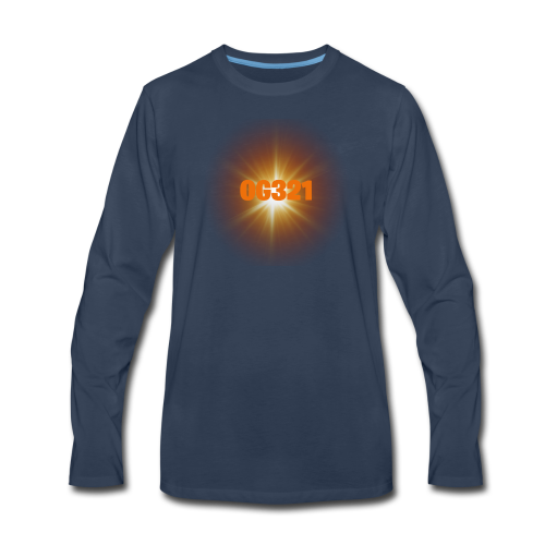 Main YouTube Channel Logo - Men's Premium Long Sleeve T-Shirt