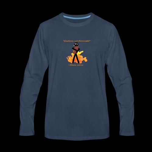 Stupid Zenra Quote - Men's Premium Long Sleeve T-Shirt
