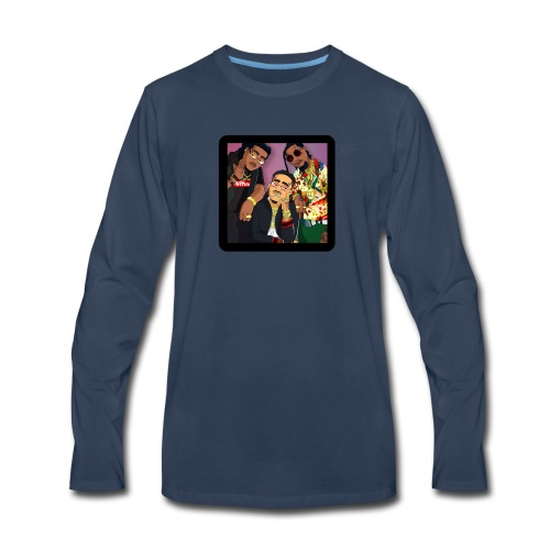 Migos Retro - Men's Premium Long Sleeve T-Shirt