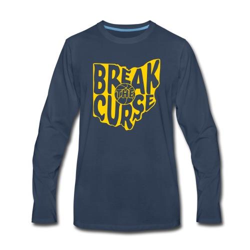 Break The Cleveland Curse - Men's Premium Long Sleeve T-Shirt