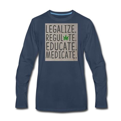 Legalize - Men's Premium Long Sleeve T-Shirt
