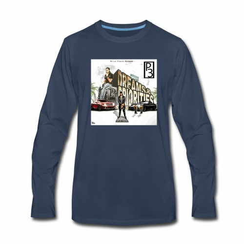p3 mixtape cover - Men's Premium Long Sleeve T-Shirt