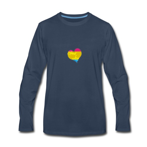 Speak Love Pan - Men's Premium Long Sleeve T-Shirt