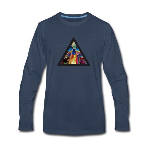 collapse - Men's Premium Long Sleeve T-Shirt